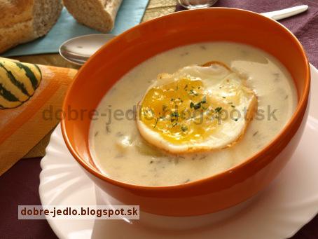 Biela zemiaková polievka - recepty
