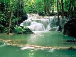 Rushing Waterfalls Scenery