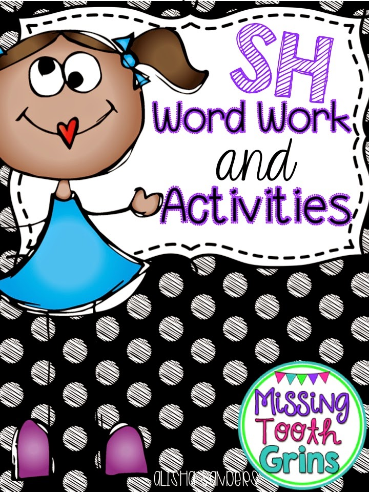 http://www.teacherspayteachers.com/Product/SH-Digraph-Word-Work-Activities-1324632