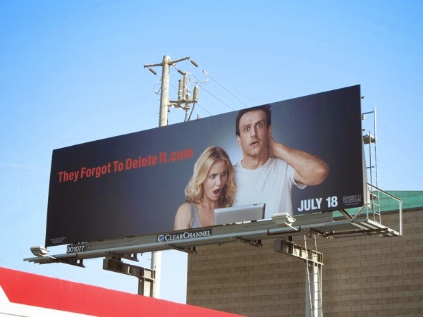 Sex Tape They forgot to delete it billboard