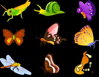Free Vektor Insecta Atau Serangga