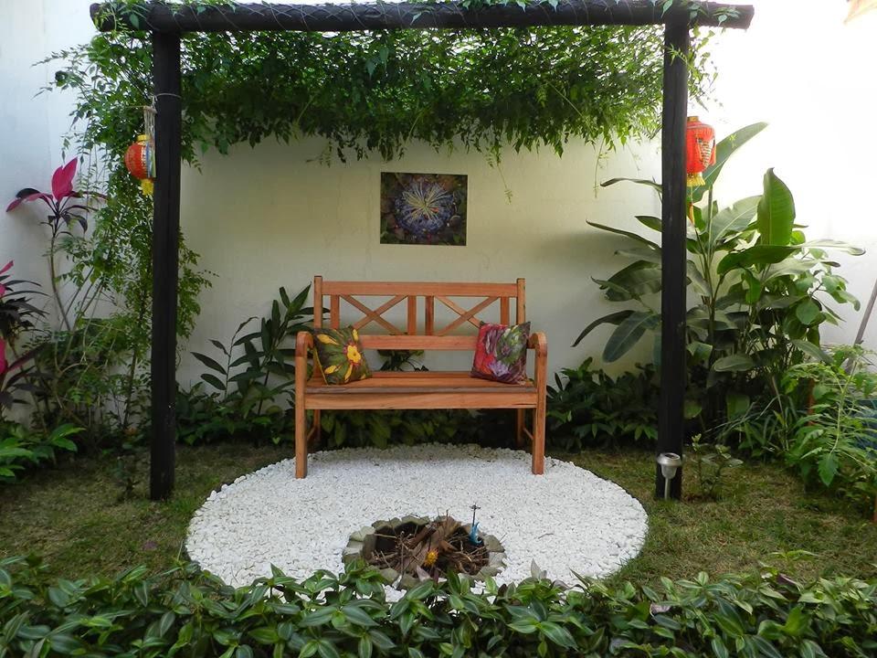 Recanto no jardim  Jeito de Casa  Blog de Decoração