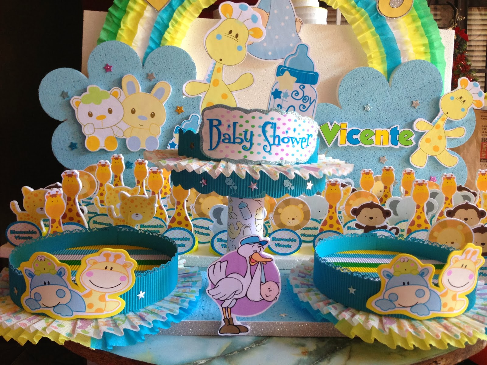 Decoraciones Infantiles Baby Shower Animalitos