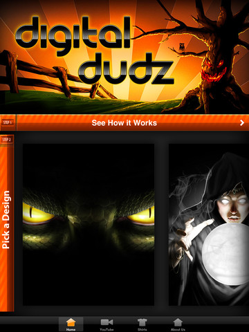 Digital Dudz - Halloween costumes app