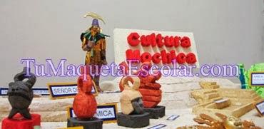 cultura mochica o moche en Perú
