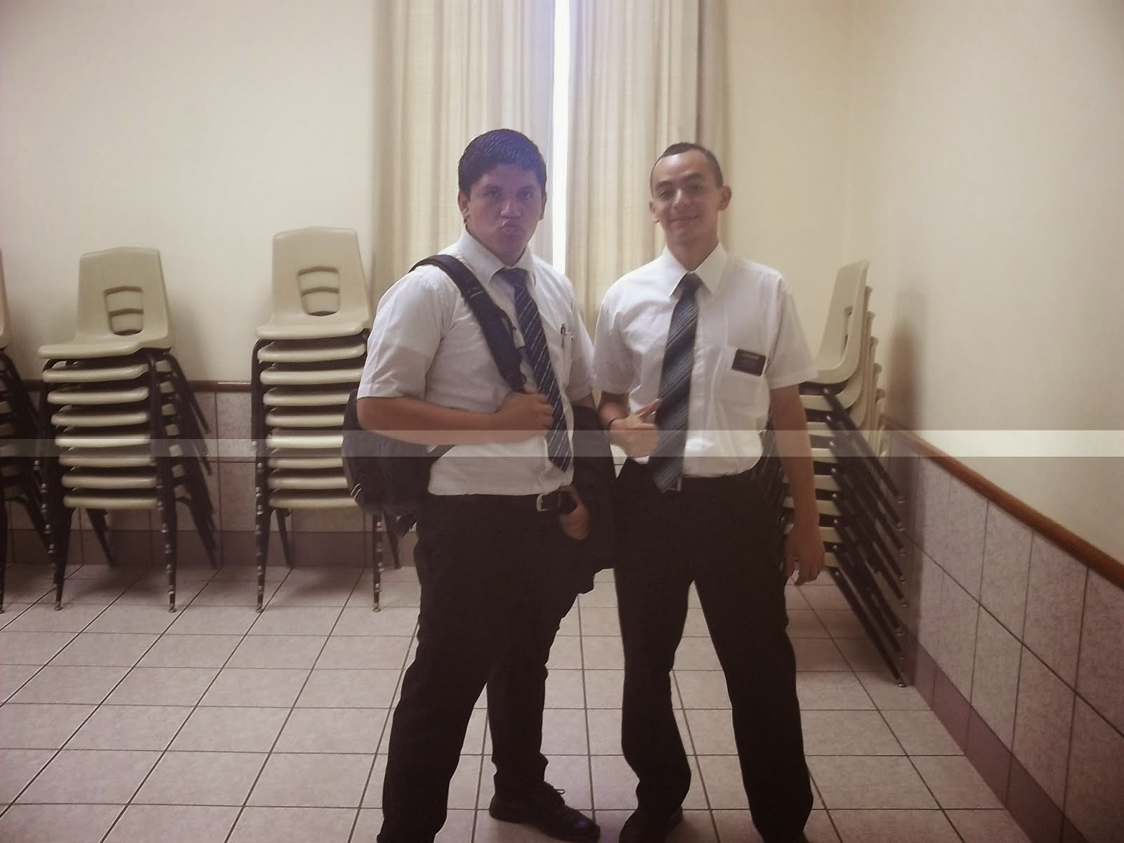 Elder Haynie and E.Vasquez