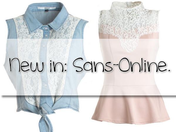 New In | Sans-Online.