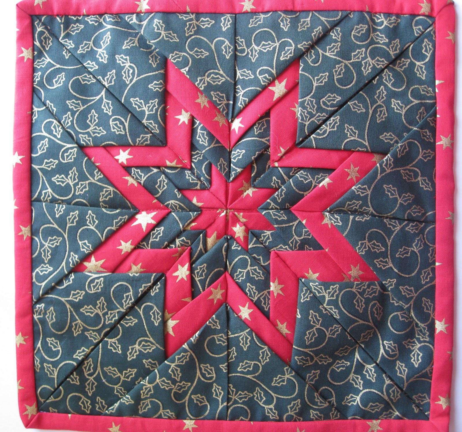 Vicki's Fabric Creations: Folded Star Mat-Tutorial Uploaded : folded star quilt block - Adamdwight.com