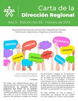 Carta del Director Regional