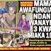 MAMA AWAFUNGIA NDANI WANAYE 3 KWA MIAKA 10