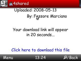Kamikembali: Download di 4shared Pake Operamini