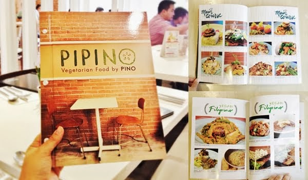 Pipino's New Menu