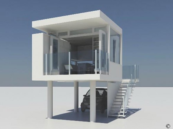 House Plans: Cubic Structured House