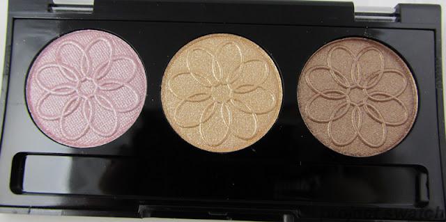 LA Colors Orchid Eyeshadow Trio