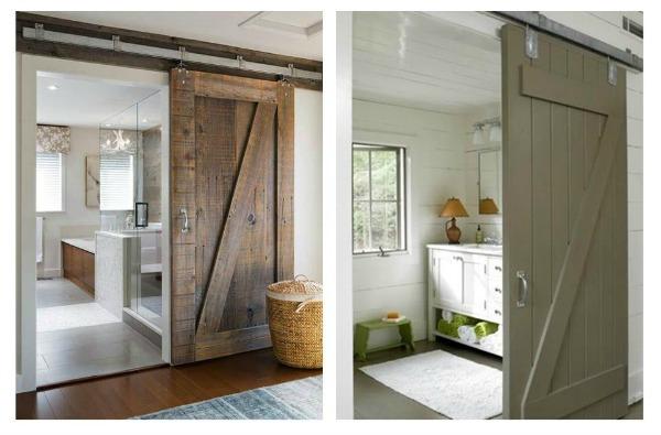 Innhogar puertas correderas tipo granero para interiores for Puerta granero madera