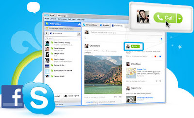 Skype je Facebook chat klijent