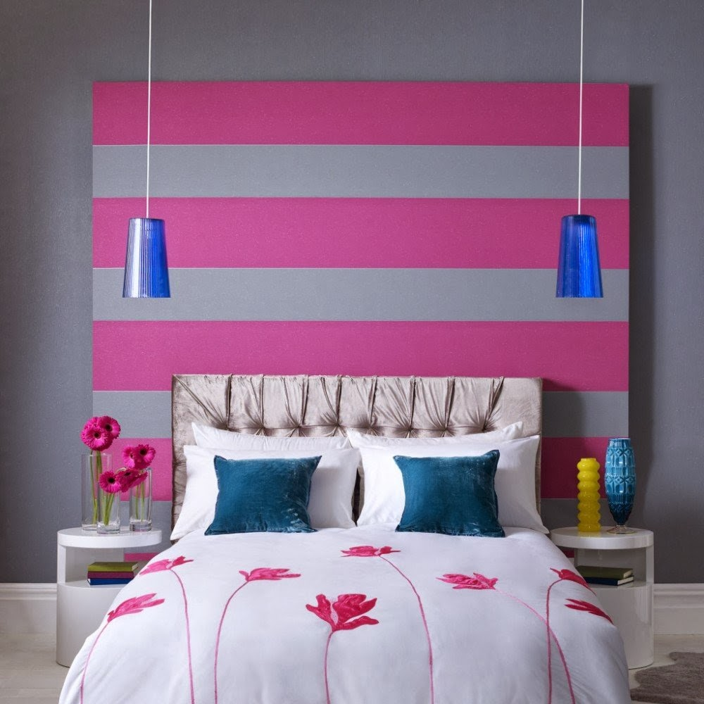 Creative Influences Pink Bedroom: Creative Influences: Celebrating Color: Blue Lamp Obsession