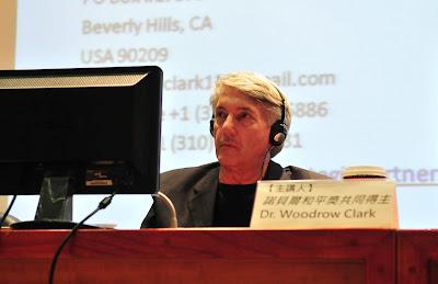 伍德羅‧克拉克(Woodrow Clark)博士。(地球公民基金會提供)