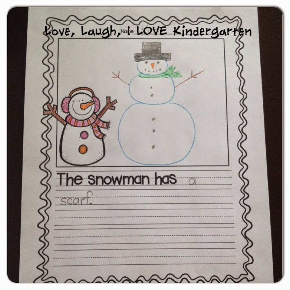 winter writing prompts kindergarten First grade writing prompts for winter the writing pages in my monthly math and literacy sets have been a big hit with teachers and moms, so i decided to make you all a special set of first grade writing prompts.