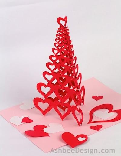 Schön Valentine Tree Tutorial: