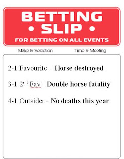 horse racing betting slip