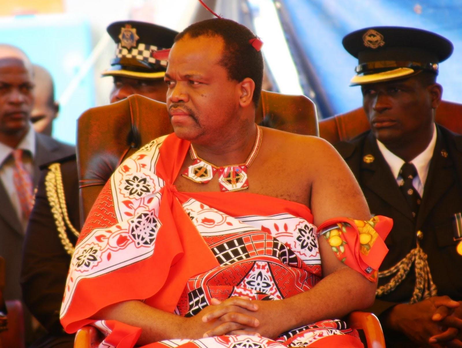 I Was Here.: Mswati III