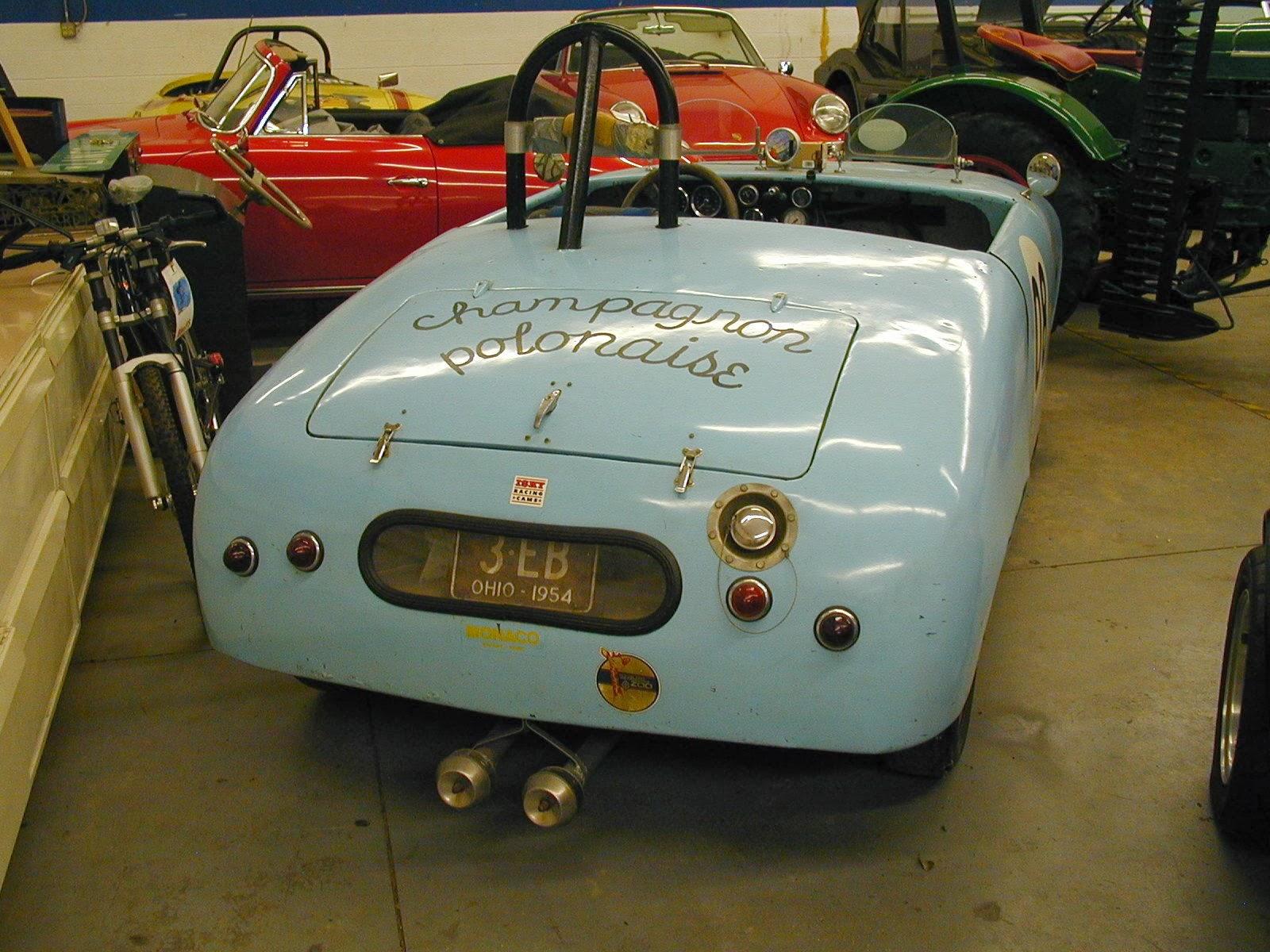 1954 Panhard Junior Vintage Race Car. Super Rare & Super Cool ...