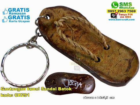 Gantungan Kunci Sandal Batok 1776