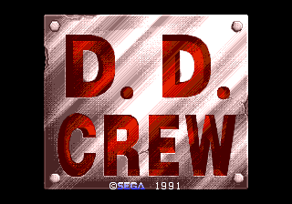 D.D. Crew title screen