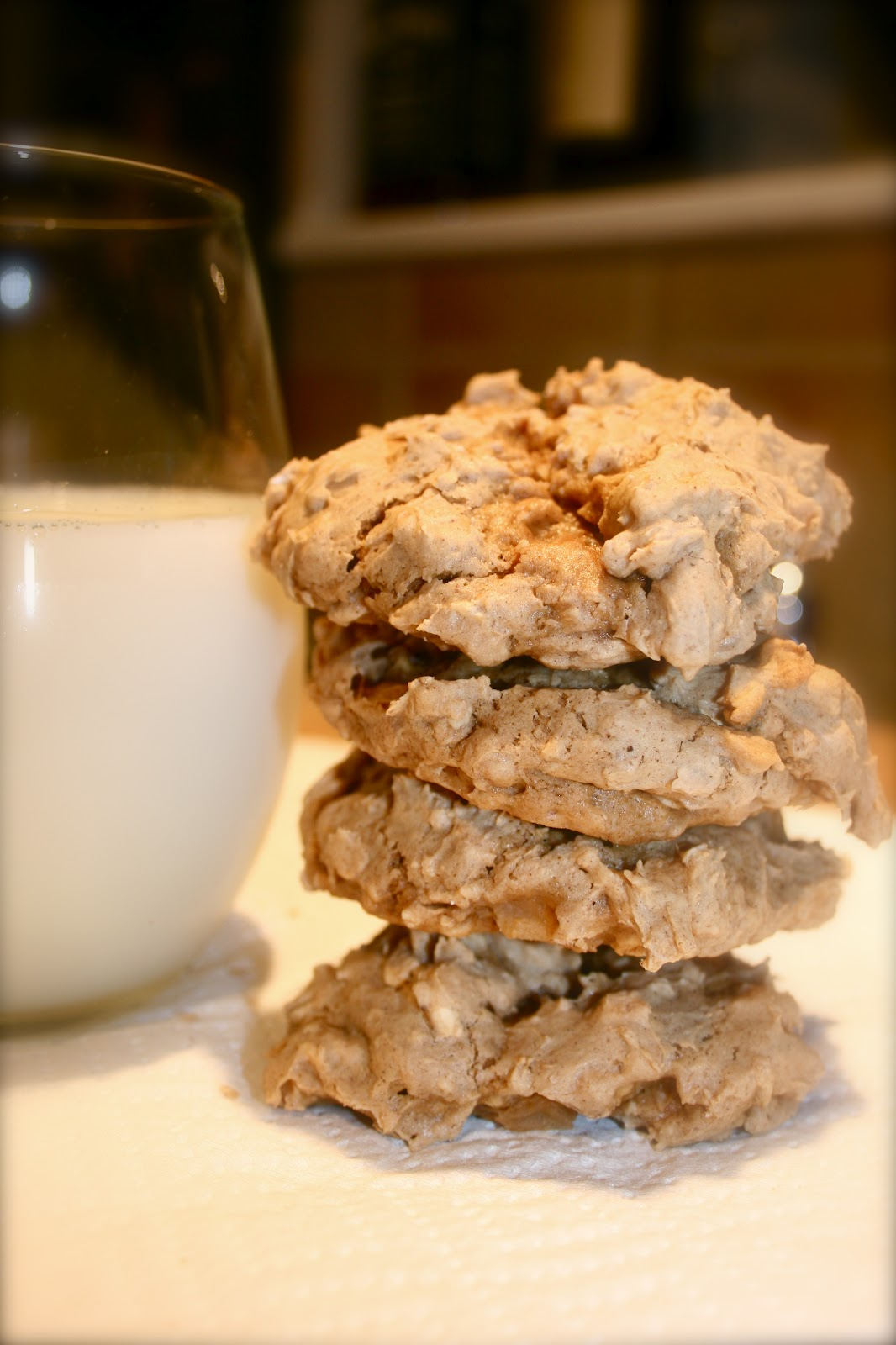 sugar & spice: Apple Cinnamon Oatmeal Cookies