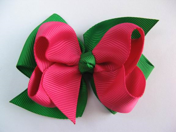 christmas hair bows women