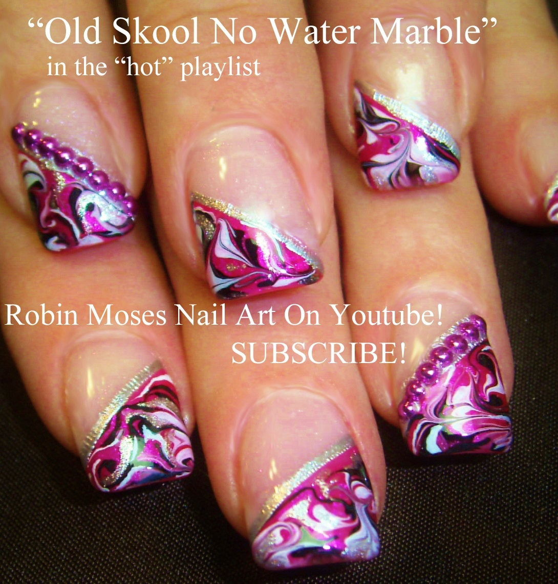 Robin moses nail art marble nails with no water needed no water cute nails cute nail playlist cutest diy nail designs nail art for beginners to advanced nail techs prinsesfo Images