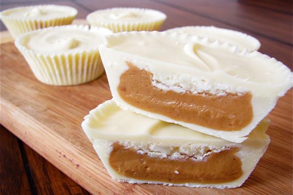 Sasaki Time: White Chocolate Peanut Butter Cups Recipe!