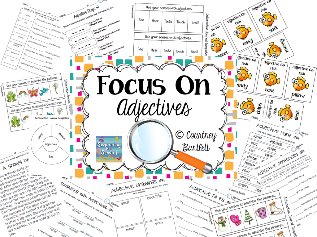 http://www.teacherspayteachers.com/Product/Focus-on-Adjectives-1049122