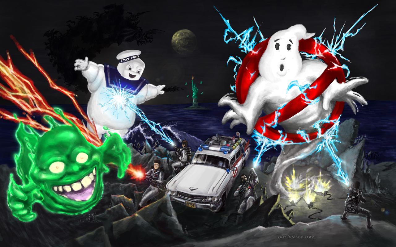 pixelreason: ghostbusters!
