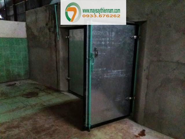 Hầm sấy lạnh tại Kiên Giang