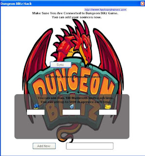 Dungeon Blitz Cheats Tool
