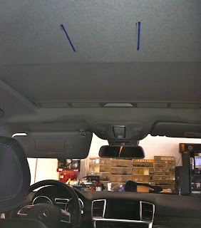 Mercedes Benz ML350 Sunroof Overhead LCD DVD Player