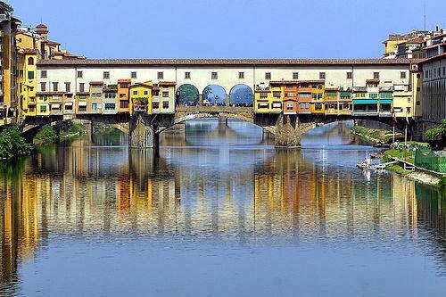 El Puente Vecchio en Florencia