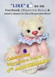 Wayneston Bears 4th Anniversary Blog Give-away!