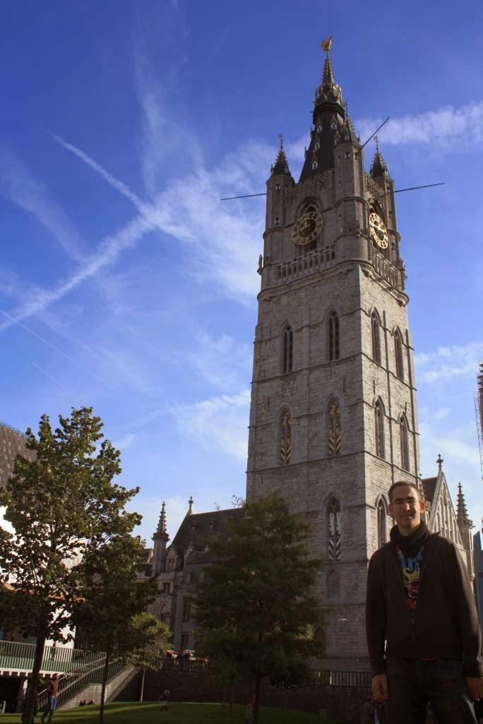 Belfort tower in Ghent