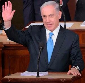 Netanyahu é aplaudido de pé no Congresso dos EUA