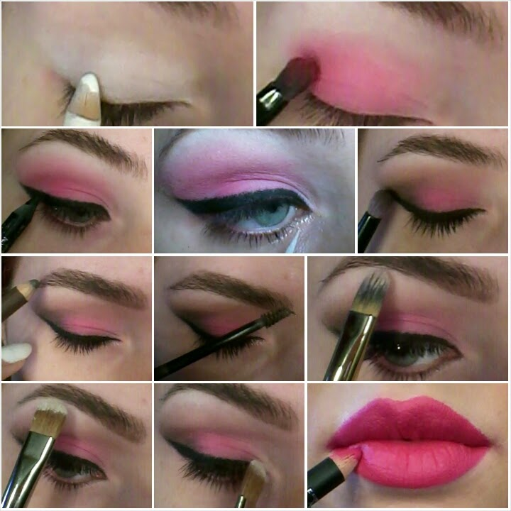 make up step by step san valentino