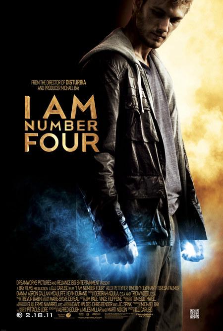 I Am Number Four cover.