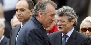 Jean-Louis Borloo et François Bayrou