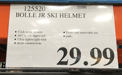 Deal for the kids size Bolle Jr Ski and Snowboard Helmet at Costco