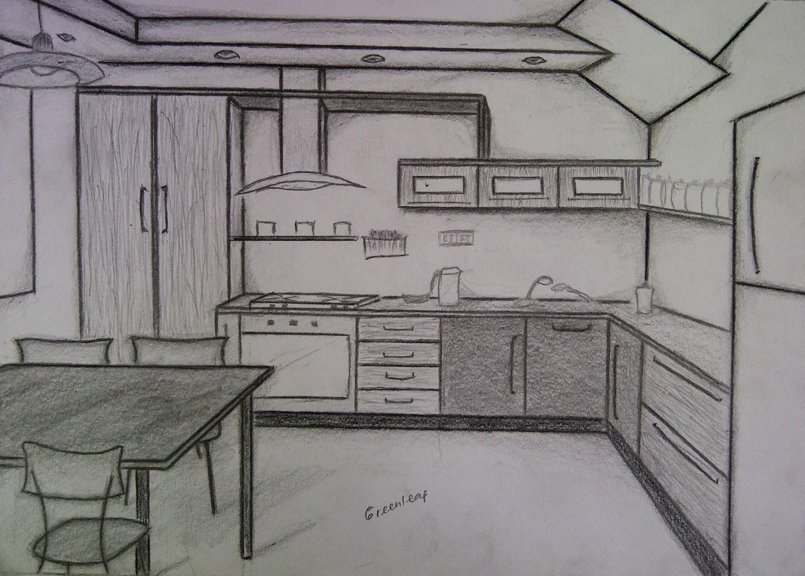 Desain Interior Dapur 4