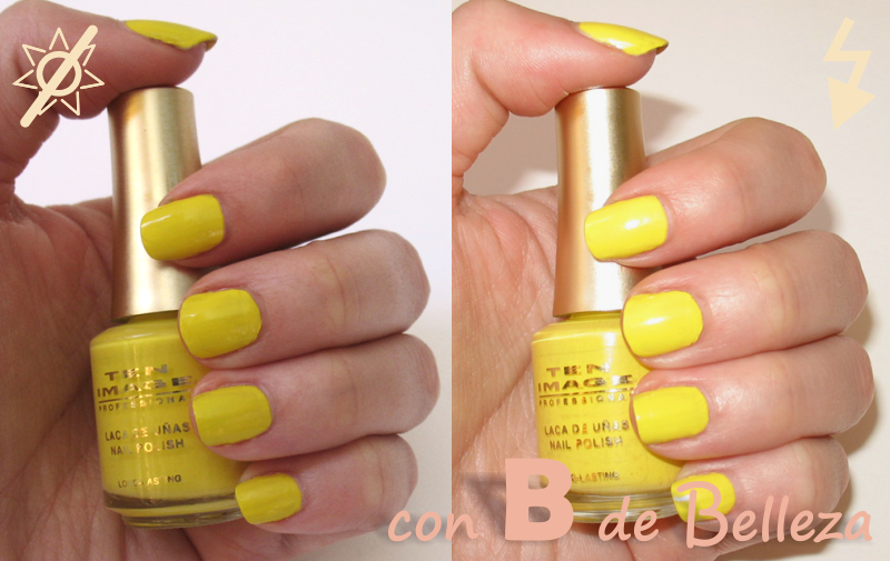 Esmalte amarillo Cazcarra