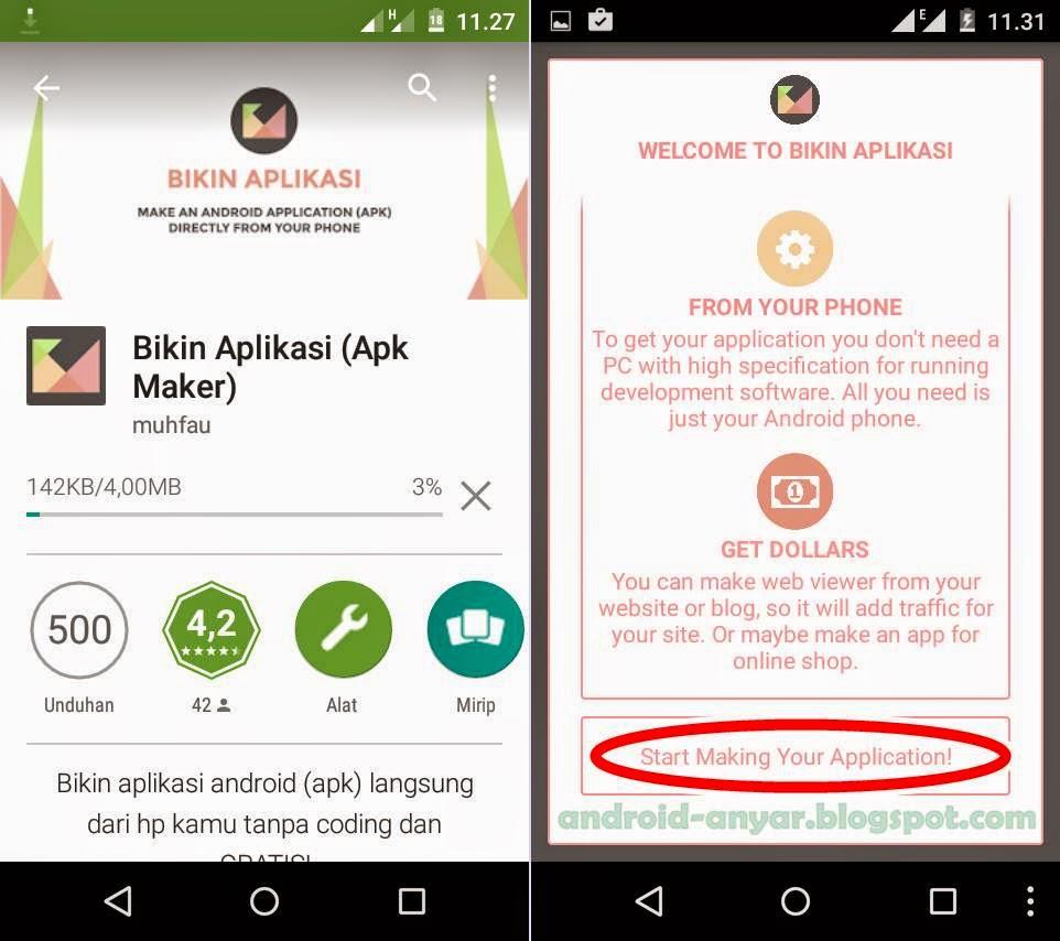 Cara Termudah Membuat Aplikasi Android Langsung dengan HP ...