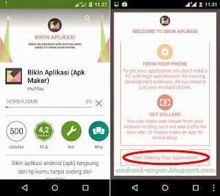 Download app BIKIN APLIKASI .apk versi terbaru gratis